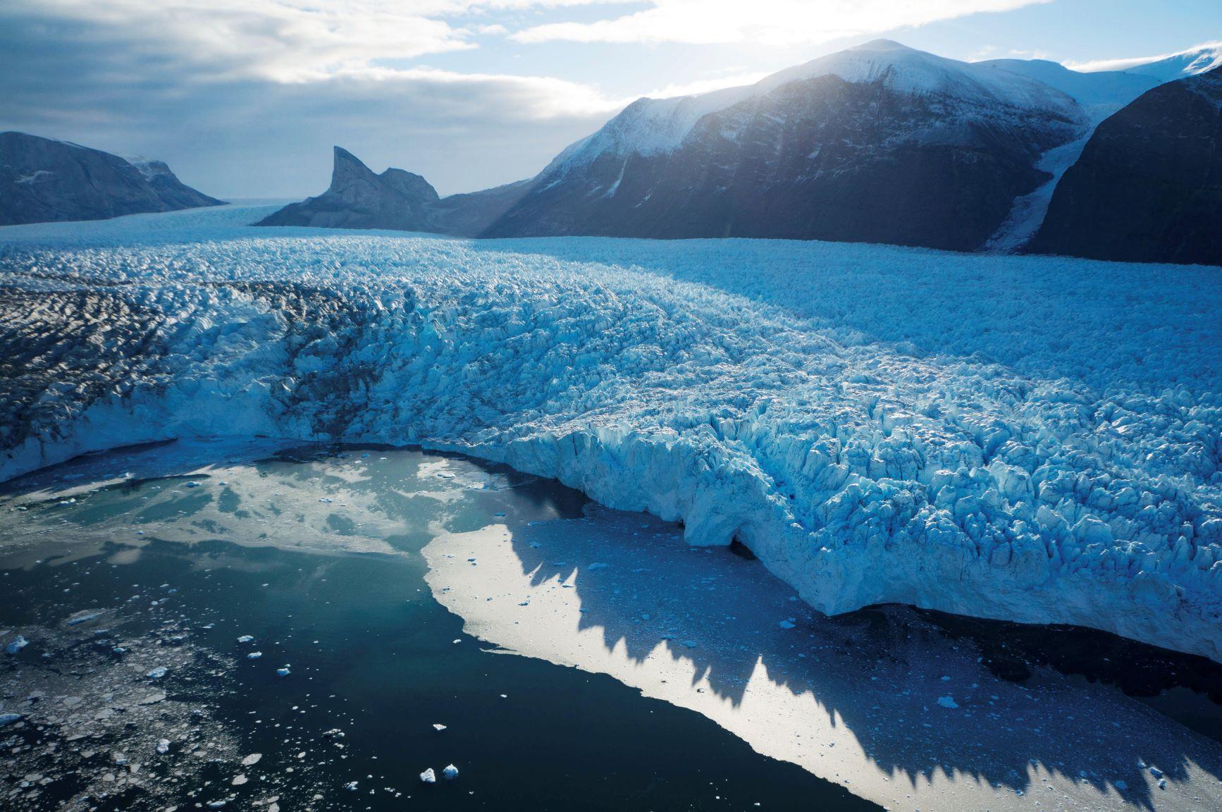 Subglacial lake